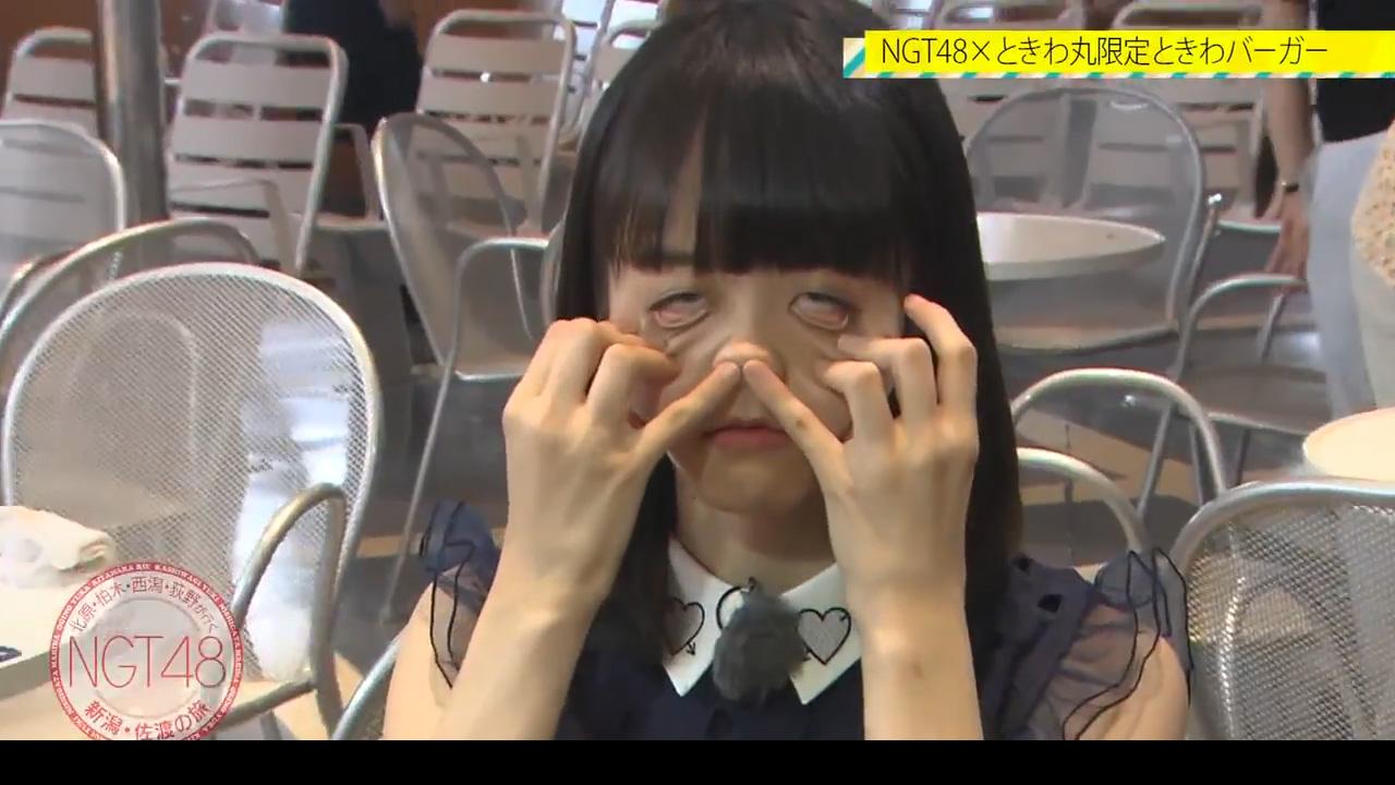 アイドルの鼻責め、鼻フック、豚鼻、変顔